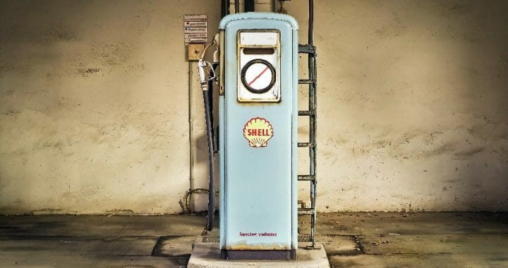 Gas pump old